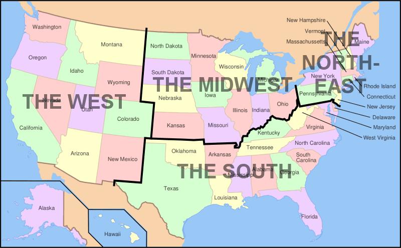 I soprannomi degli Stati federati degli USA