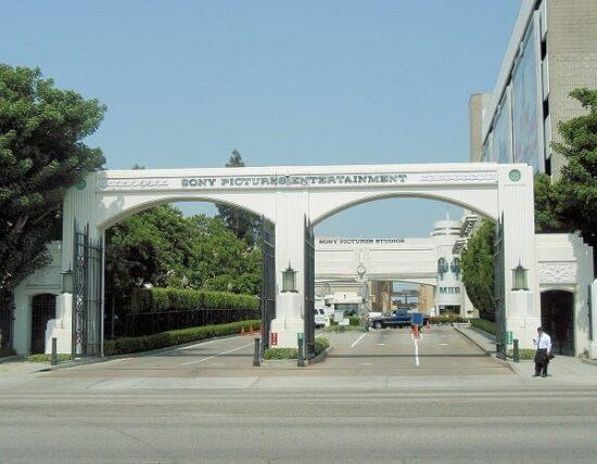 Ingresso dei Sony Pictures Studio Tour vicino Los Angeles (California)