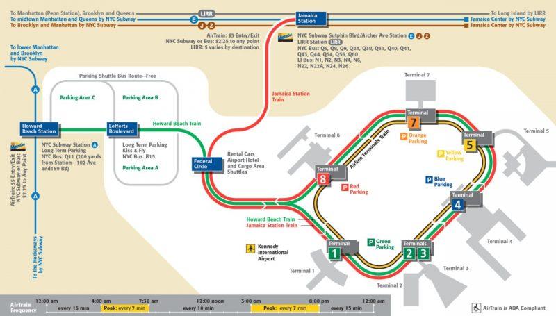 mappa-airtrain-metro-jfk-come-raggiungere-manhattan